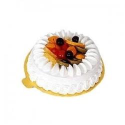 Torta de Vainilla y Frutas