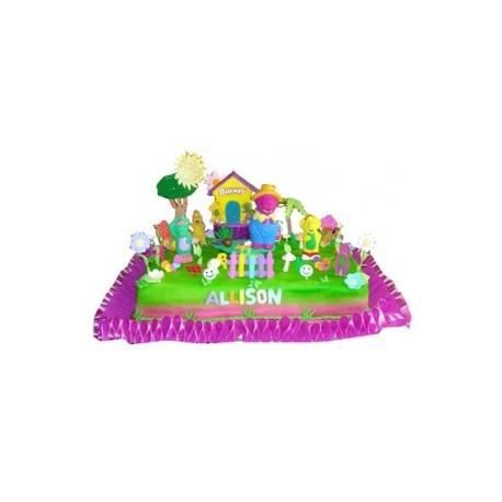 Torta de Barney y sus Amigos