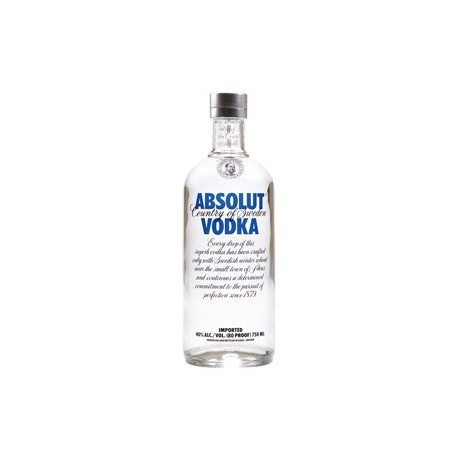 Vodka Absolut Clásico - 750ml