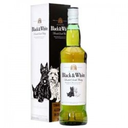 Whisky Black & White - 750ml