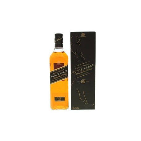 Whisky Johnnie Walker etiqueta negra - 750ml