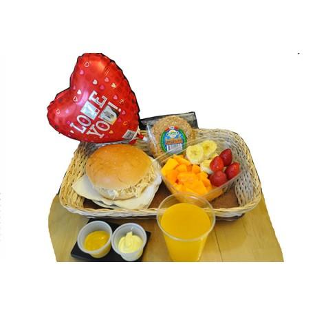 Desayuno Feliz Cumpleaños simple