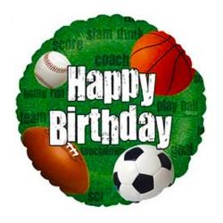 Globo Happy Birthday deportes