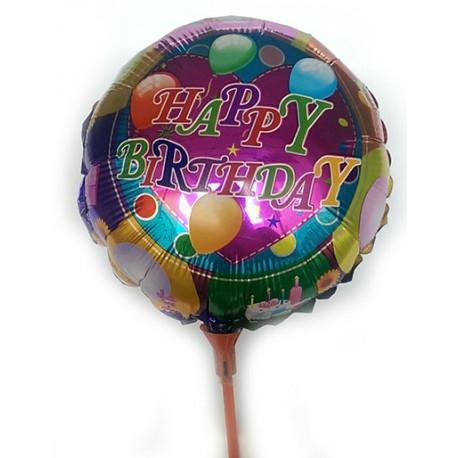 Globo Happy Birthday pequeño