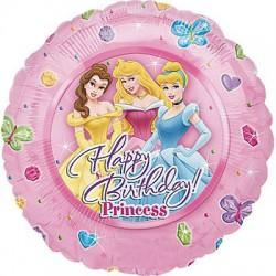 Globo Happy Birthday Princess