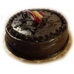 Torta con doble chocolate
