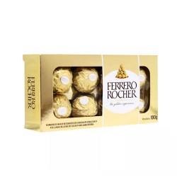 Bombones Ferrero Rocher (chocolate y avellandas) 100gr